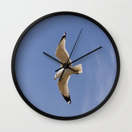 Seagull in the #sky Wall Clock