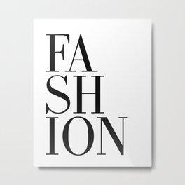 Print / Poster, 'Fashion', Wall Art, Modern Metal Print