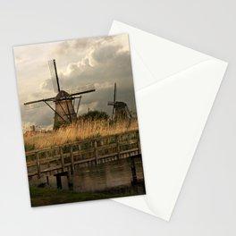 Dutch classic windills Stationery Cards