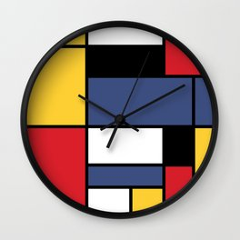 Abstraction color Wall Clock