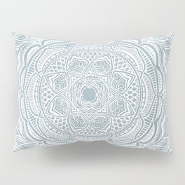 Dedication to Lucy (gray-blue) Pillow Sham