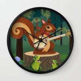 The Nutport Croak Music Festival Wall Clock