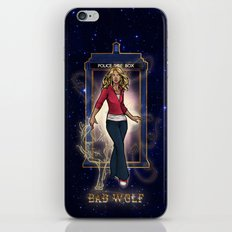 Everything Must Come to Dust - Rose Tyler - Bad Wolf iPhone & iPod Skin