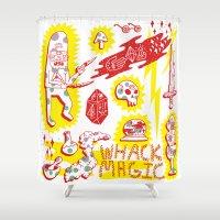 Whack Magic Shower Curtain