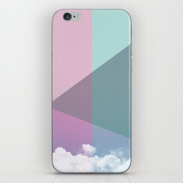 Colorful sky iPhone Skin