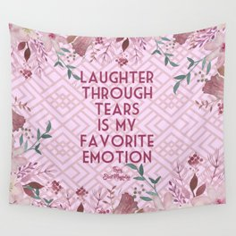 Steel Magnolias Laughter Through Tears Truvy Quote Wall Tapestry