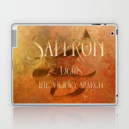 SAFFRON lights the victory march. Shadowhunter Children's Rhyme. Laptop & iPad Skin
