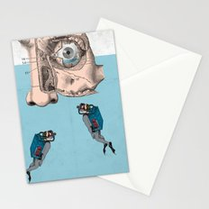 Boys don't cry? Stationery Cards