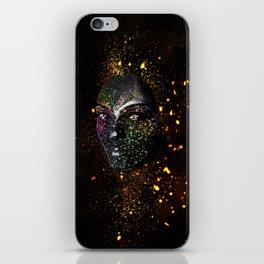 Goddess of Cosmos iPhone Skin