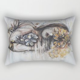 Abeille (bee) Rectangular Pillow