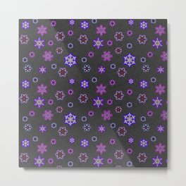 Snowflakes Christmas Time 2 Metal Print