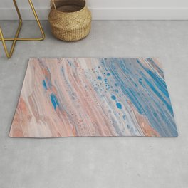 Abstract Color Flow Rug