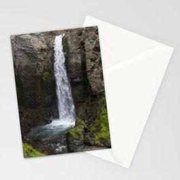 Yellowstone Water fall Stationery Cards