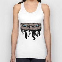 infamous Tank Tops featuring Comic eyes (infamous) by  Steve Wade ( Swade)