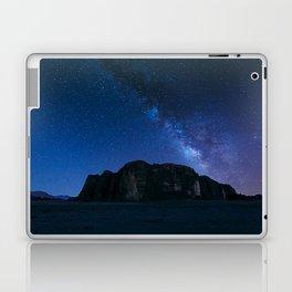 Milky Way Over Wadi Rum Laptop & iPad Skin