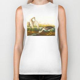 Tell-tale Godwit, or Snipe Bird Biker Tank