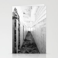 poland Stationery Cards featuring Abandoned factory Rybnik, Poland by aphelpsphoto