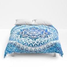 Watercolour Yin Yang Mandala Comforters