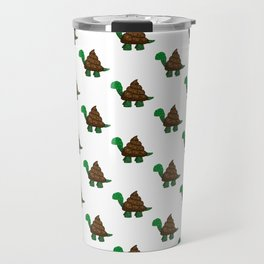 Turdle - Poop - Turtle - 57 Montgomery Art Travel Mug