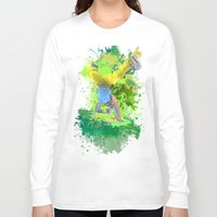 hiphop Long Sleeve T-shirts featuring HipHop Forever by Frauste