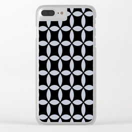Ticking on Black Clear iPhone Case