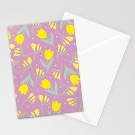 Tulip & Freesia Stationery Cards