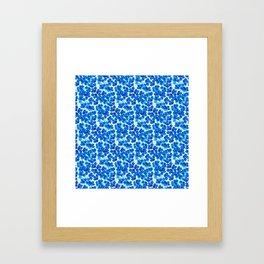 Forget-me-not Flowers White Background #decor #society6 #buyart Framed Art Print