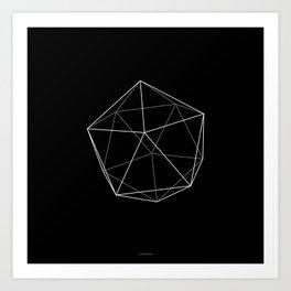 Icosa Art Print