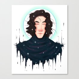 Born of Stars Canvas Print