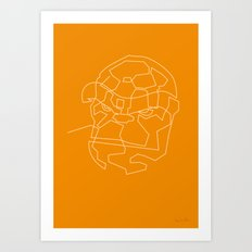 One Line The Thing Art Print