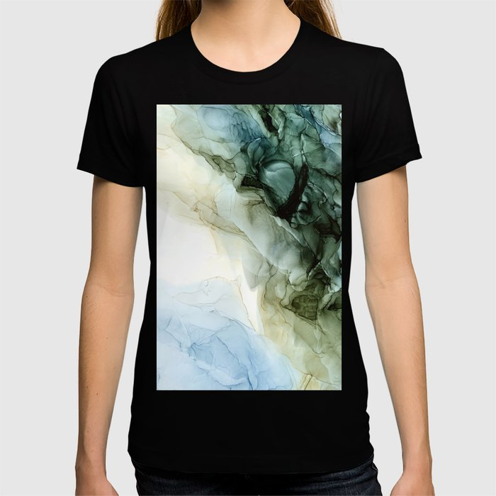 Land and Sky Abstract Landscape Painting T-shirt