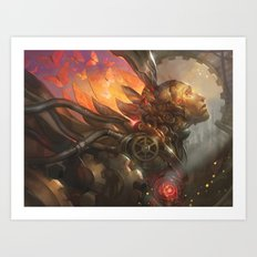 Artificial Dreams Art Print
