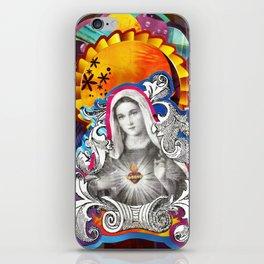 Imaculado Coração de Maria (Immaculate Heart)  iPhone Skin