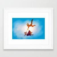 bioshock infinite Framed Art Prints featuring Bioshock Infinite by anansass