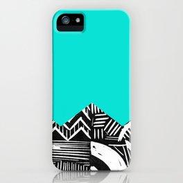 Sky lino bright iPhone Case