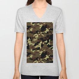 Camouflage Unisex V-Neck