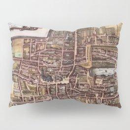 Replica city map of The Hague 1649 Pillow Sham