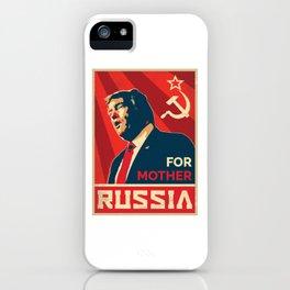 Trump Russia iPhone Case