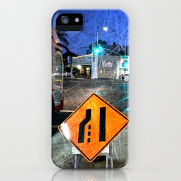 The ever changing world of now iPhone Case