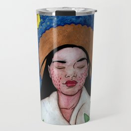 The Lily of the Mohawks Travel Mug