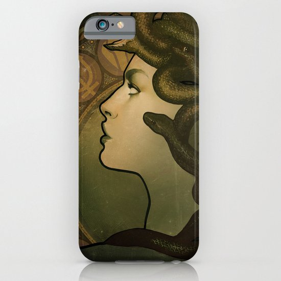 Medusa Nouveau iPhone & iPod Case