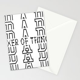Dad Fixer of Things Stationery Cards