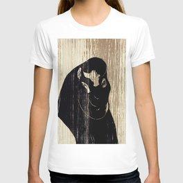 "Edvard Munch ""The Kiss"", 1897 T-shirt"