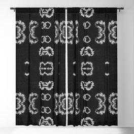 BW Shibori Bloom Blackout Curtain
