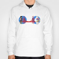 big hero 6 Hoodies featuring Big Hero 6 by Willow