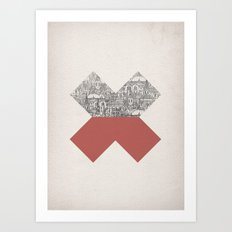 Cross Art Print