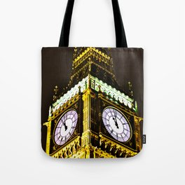 Big Ben in HDR Tote Bag