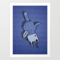 Like ? Art Print