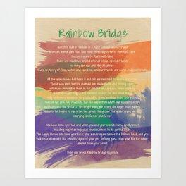 Rainbow Bridge Print Art Print