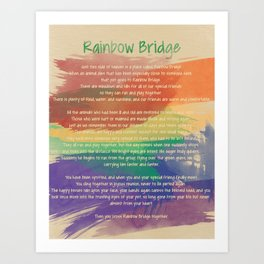 Rainbow Bridge Print Kunstdrucke
